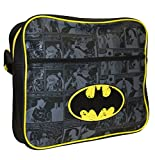 DC Comics Batman School Bag Batman Courier Bag Blue (Black) Batman001016