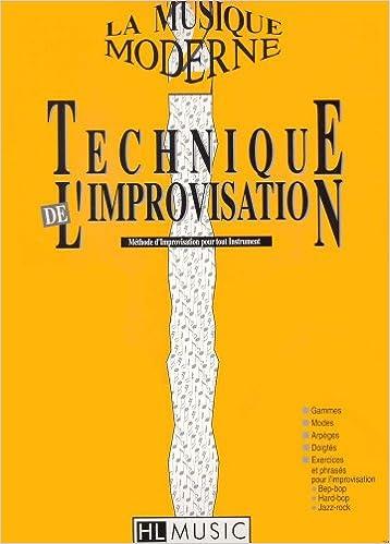 En ligne téléchargement gratuit La musique moderne Vol.2 - Technique de l'improvisation pdf, epub ebook