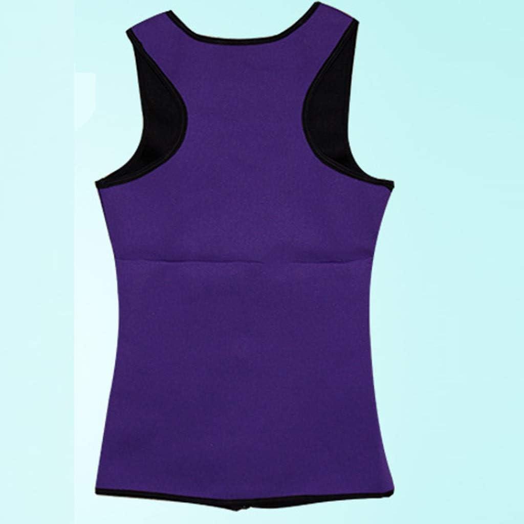 ITISME Damen Fitness Sport Unterbrust Korsett Body Shaper Weste Taille Trainer Workout Abnehmen f/ür Training,Yoga Cycling Boxing