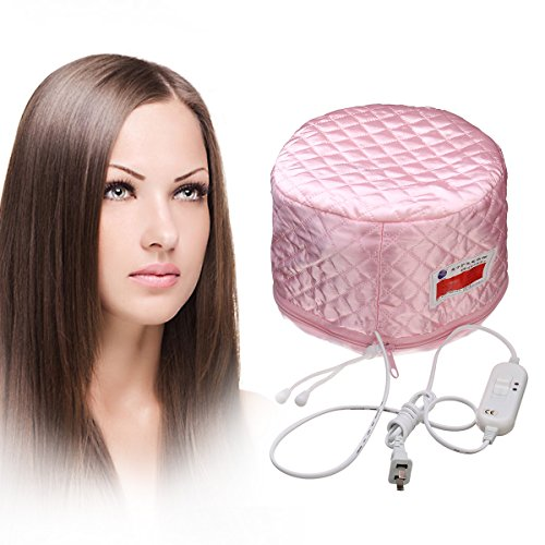 LUCKYFINE Hair Thermal Steamer Treatment SPA Cap Nourishing Care Hat New Beauty Steamer Nourishing Hat 23 x (Thermal Hair Cap)
