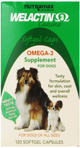 Welactin Canine Softgel Capsule, 120 Count, 6-Pack