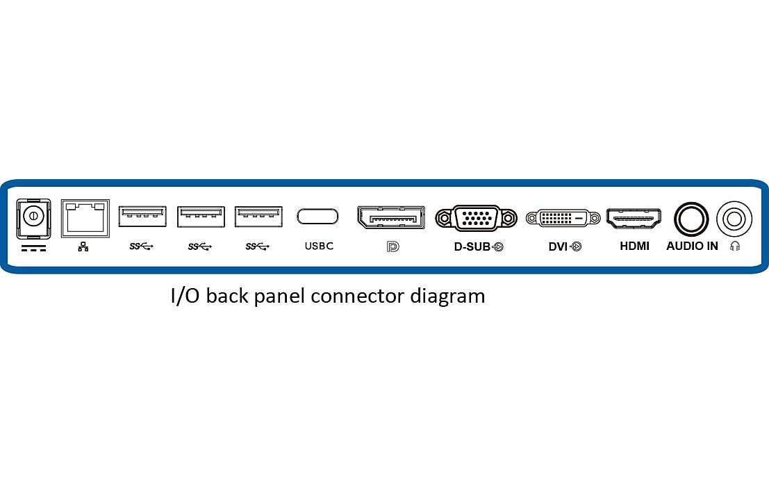 "Philips 276E8FJAB 27"" Class IPS Slim LED Monitor, 2560 x 1440, 350cd/m2, 4ms, Speakers, VGA, DisplayPort, HDMI 8"