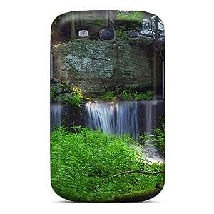 NikRun VeSKN3008mQBjd Case Cover Galaxy S3 Protective Case Amazing Sawkill Falls