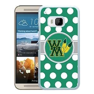 NCAA William Mary Tribe 8 White Popular Custom Design HTC ONE M9 Phone Case