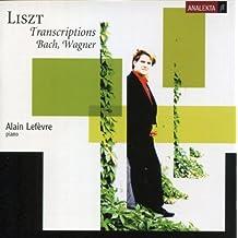 Liszt: Transcriptions - Bach & Wagner