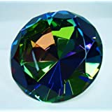 Fancy Shinning AB Color Crystal Diamond 80mm