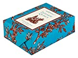 Seda France Classic Toile Paper-Wrapped Bar Soap, Japanese Quince, 6 Ounce (Pack of 12)