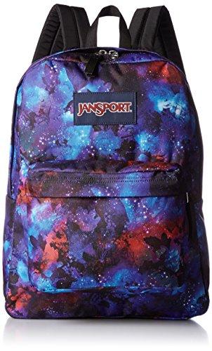 [해외]JanSport Superbreak 배낭 - 단종 된 색상 (Multi Garden Space)/JanSport Superbreak Backpack- Discontinued Colors (Multi Garden Space)