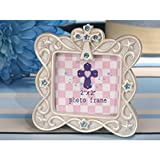 Blessed Events Cross Design with Blue Photo Frame - 24 Pieces