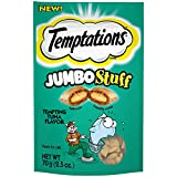 Temptations Jumbo Stuff Cat Treats Tempting Tuna Flavor - (12) 2.5 Oz. Pouches