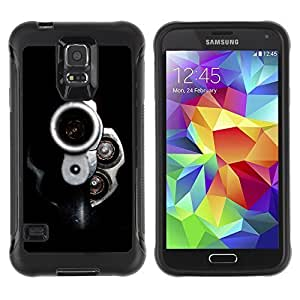 Hybrid Anti-Shock Defend Case for Samsung Galaxy S5 / Gun