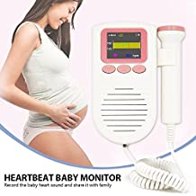 bahsh Heartbeat Baby Monitor Listen to and Record the Sounds Your Baby Makes for Home Use