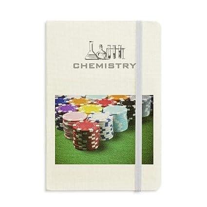 Diario clásico A5 con diseño de cuaderno de fichas de póquer para ...