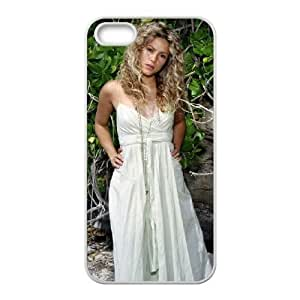 shakira mebarak 81 iPhone 5 5s Cell Phone Case White xlb2-085788