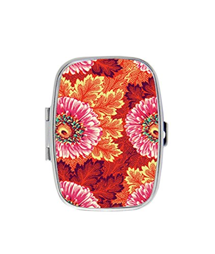 - SGray Style Hapi Sunflower Coral Personalized Custom HOT Sale stainless steel Pill Case Box Medicine Organizer Gift Box