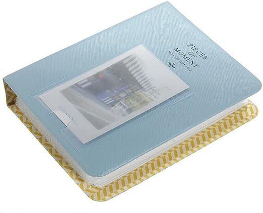 EXOH - Caja para álbum de Fotos (64 Bolsillos), Color Azul: Amazon ...