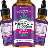 Hemp Oil 7500mg for Pain Relief, Relaxation, Better Sleep, All Natural, Pure Extract