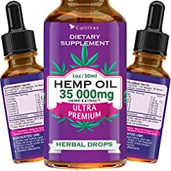 Hemp Oil 35 000mg for Pain Relief, Relax...
