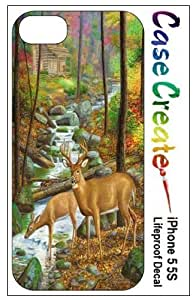 Buck Doe Deer Decorative Sticker Decal for your iPhone 5 5S Lifeproof Case