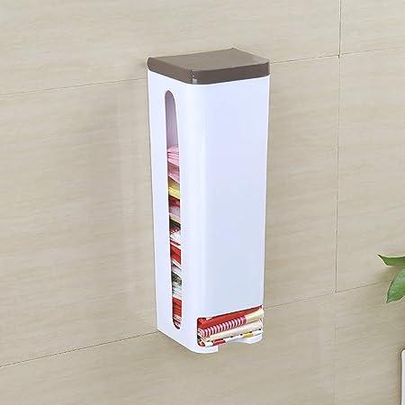 Dispensador De Bolsas De Plástico IKEA, Fácil De Instalar, Caja De Almacenamiento De Basura En La Pared, Caja De Almacenamiento Multifuncional De Almacenamiento En El Hogar,Black: Amazon.es: Hogar