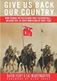 Give Us Back Our Country, David Flint and Jai Martinkovits, 1922168696