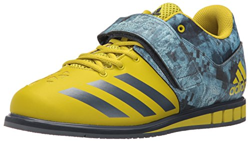 adidas Performance Men's Powerlift.3 Cross-Trainer Shoe, Unity Lime/Unity Blue/Unity Lime, 10.5 M US