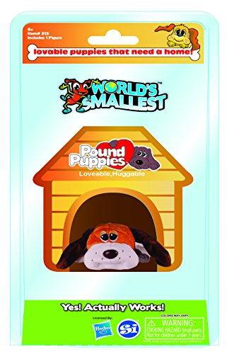 World's Smallest Pound Puppies Collectable