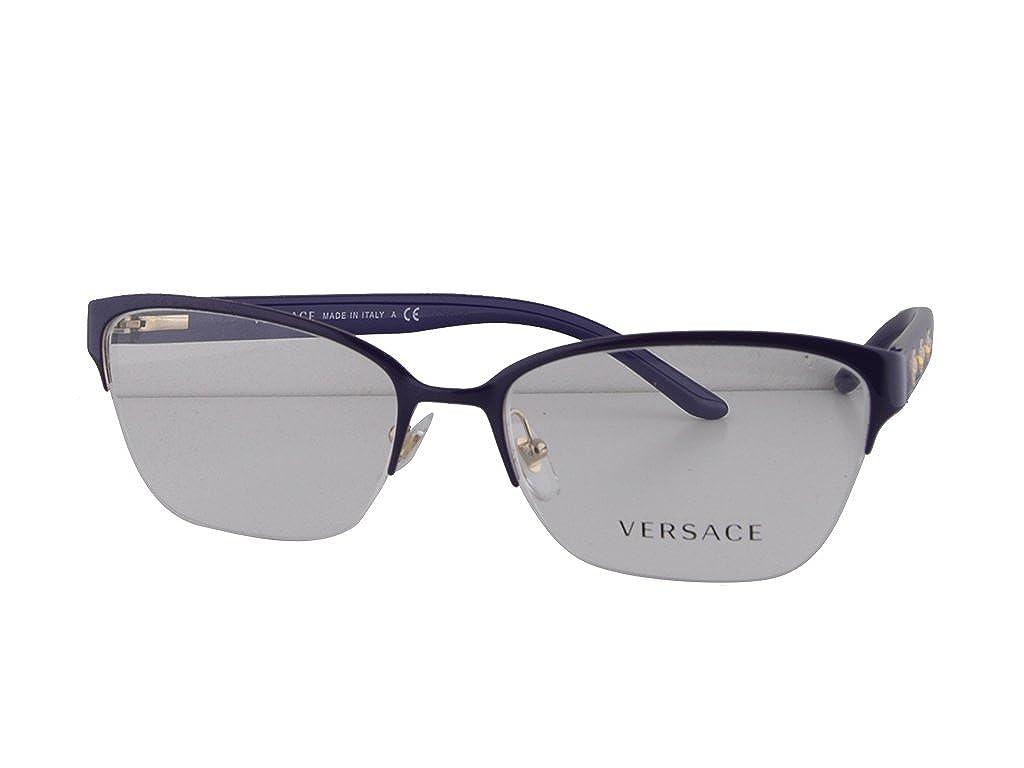 742e2eb9f3 Amazon.com  Versace VE 1224 Eyeglasses 53-17-140 Pale Gold 1353  Clothing