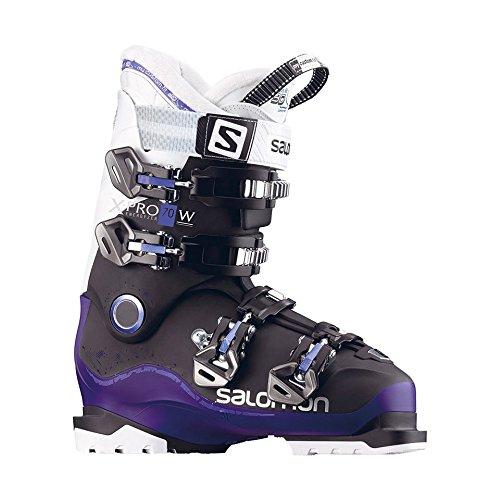 - Salomon X-Pro 70 W Womens Ski Boots 2018-26.5/Black-Dark Purple-White