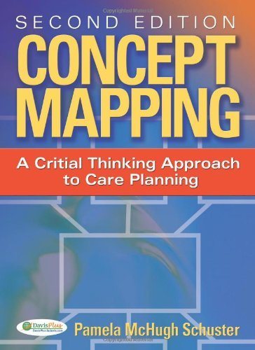 By Dr Pamela Schuster: Concept Mapping: A Critical-Thinking Approach to Care Planning Second (2nd) Edition PDF
