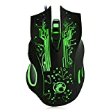 Estone X9 2400DPI LED Optical 6D USB Wired Gaming Mouse by Estone