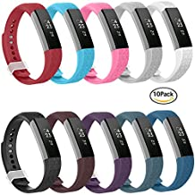 Fitbit Alta HR and Alta Bands, Greeninsync Fitbit Alta Replacement Bands Small/Large Wristband Adjustable Smart Watch Strap for Fitbit Alta Accessory Band w/ Metal Clasp and Ultrathin Fastener