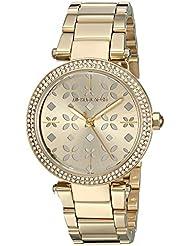 Michael Kors Womens Mini Parker Gold-Tone Watch MK6469