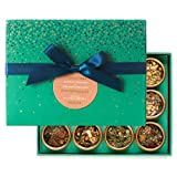 DAVIDsTEA Caffeine Free Tea Sampler, Organic Loose Leaf Tea Gift Set, Perfect Host Gift, 12 Herbal Teas, 83 g / 2.9 oz