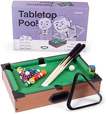 Mini mesa de billar | Juego de mesa pequeño perfecto para oficinas ...