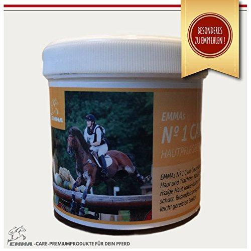 ♥ EMMA ♥ réparation de la peau avec zinc - Antiseptique Crème de soin Forme un protégé Film contre Bacteries & Parasites soins du cheval , pâte de zinc pour les soins intensifs de la peau du cheval et du chien pour favoriser la guérison des blessures,