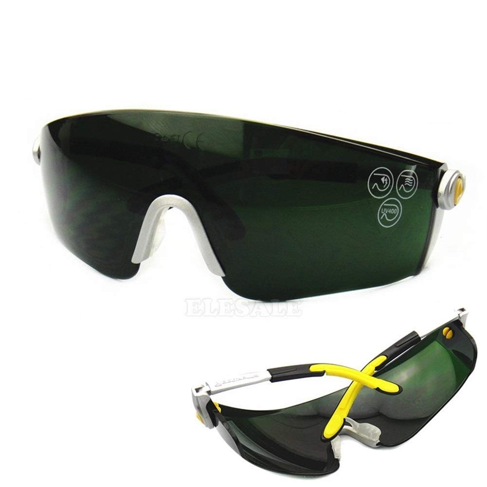 YUANYUAN521 Safety Goggles for Welding Flaming Cutting Brazing Soldering Eye Protector Work Safety Glasses by YUANYUAN521