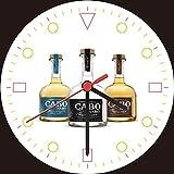 Cabo Wabo Tequila Reposado Blanco Anejo Bottle Wall Clock