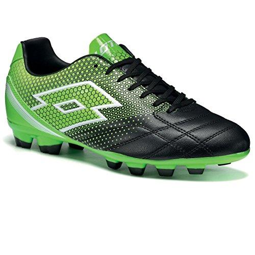 Lotto Spider 700 Xiii Fgt, Botas de Fútbol para Hombre Negro / Verde (Blk / Mint Fl)