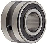 Koyo NA4900A.2RS Needle Roller Bearing, Removable Inner Ring, Open End, Double Sealed, Normal Clearance, Oil Hole, Steel Cage, Metric, 10mm ID, 22mm OD, 14mm Width
