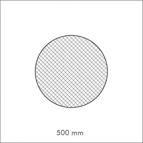 Decoflair EPS-Rosette B17 Wand St/ück Deckenrosette /Ø 500 mm Deckendekoration Dekorrosette weiss