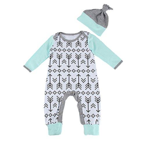 puseky Baby Jungen Mädchen (0-24 Monate) Spieler mit Mütze 0-6 Monate