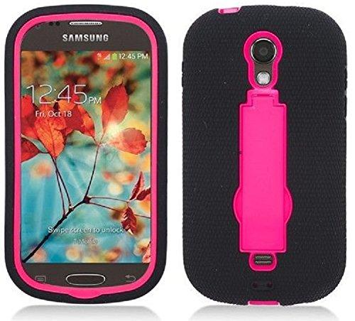official photos e48c6 918bd NP CITY Phone Case ARMOR Cover For Samsung Galaxy Light T399 / SGH-T399  (sBLACK/PINK Arm)