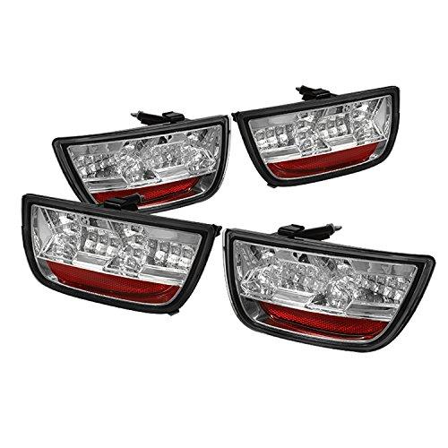 Spyder Auto ALT-YD-CCAM2010-LED-C Chrome LED Tail Light