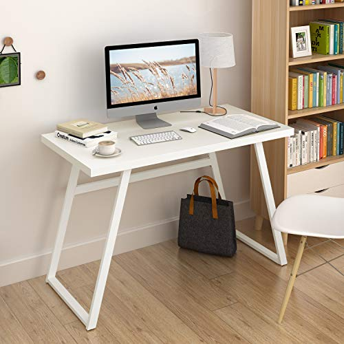 DEVAISE 46 Computer Desk for Home Office, Writing Desk PC Laptop
