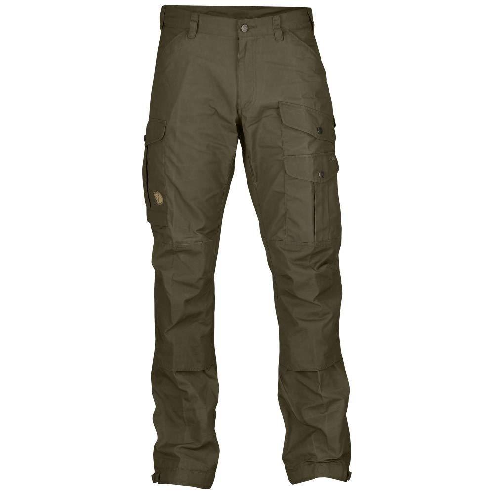 Fjallraven - Men's Vidda Pro Trousers Long, Dark Olive-Dark Olive, 50