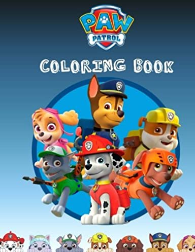 Paw Patrol Coloring Book Cover Free Wiring Diagram For You
