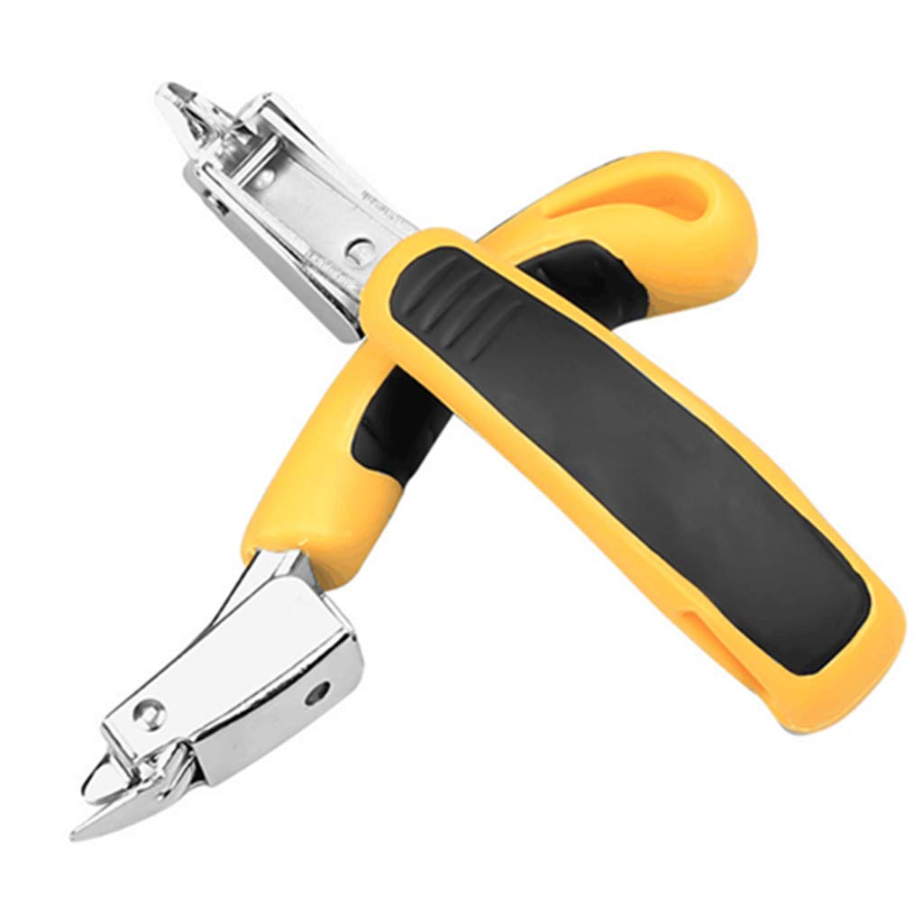 JAMF 2 pcs Heavy Duty Staple Remover Tack Lifter Puller Ofiice Claw Tools for Upholstery and Construction