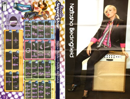 - Boogie Super PS3 Dance Guide/Poster (Sony PlayStation 3 Dance Guide/Poster ONLY - NO GAME) [Dance Guide/Poster ONLY - NO GAME INCLUDED] Play Station