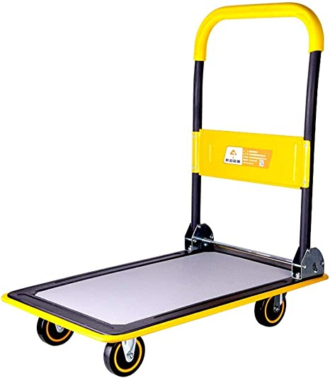 Carrito de compras Carros Camiones de plataforma con plataforma ...